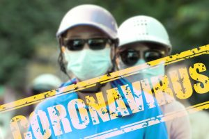 coronavirus, virus, mouth guard